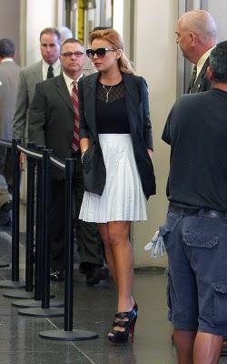 ¿Qué me pongo para ir al juzgado? Mira a Lindsay Lohan