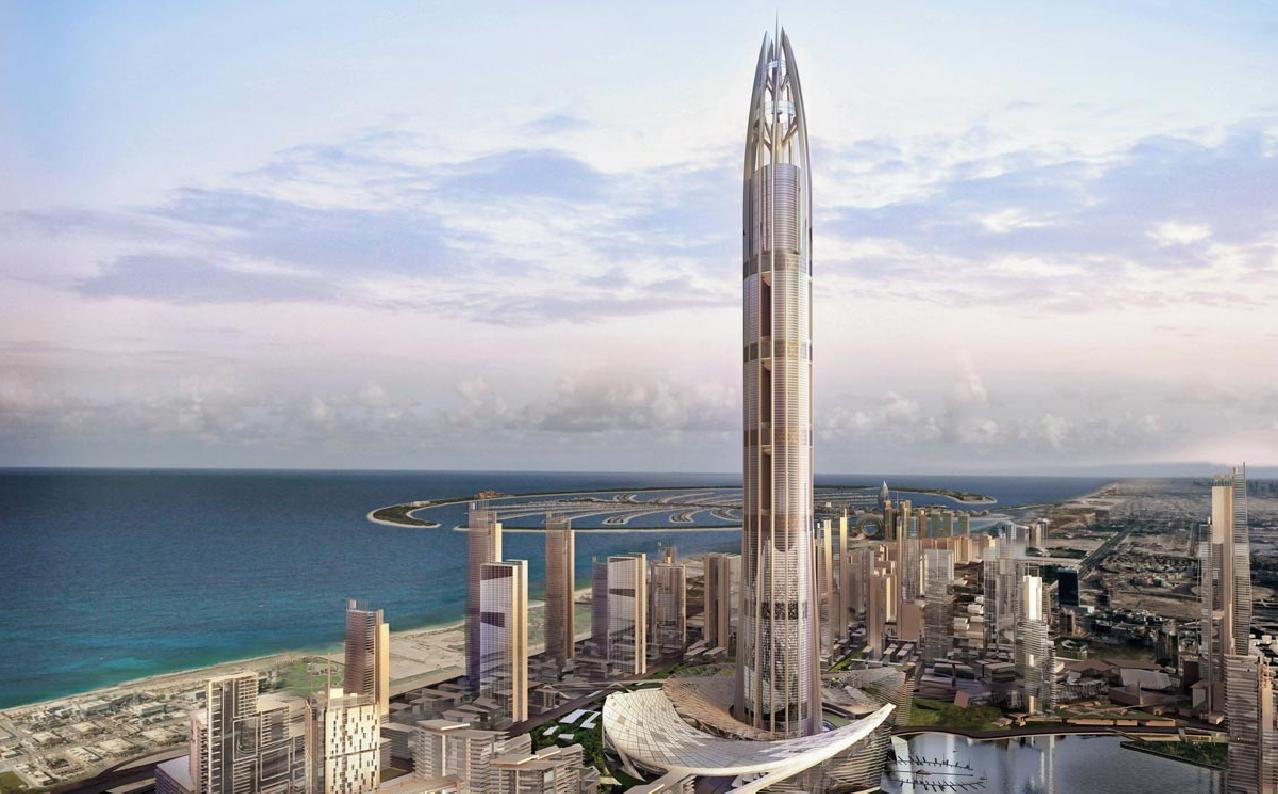 los edificios ms altos del mundo en construccin