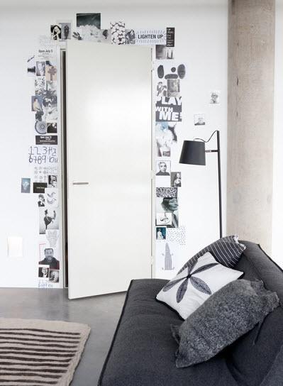 Ideas para decorar una pared vac a paperblog for Ideas para decorar habitacion con fotos