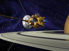Llega el solsticio de verano en Saturno paralaCassinni
