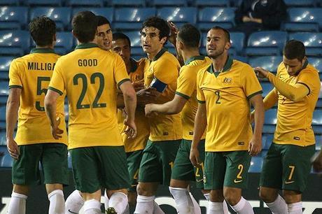La preconvocatoria de Australia para el Mundial