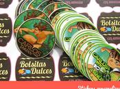 Stickers Etiquetas autoadhesivas Corte recto circular