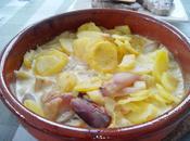 Patatas horno pera
