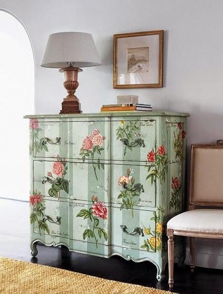 Empapelando muebles paperblog - Empapelar muebles ...