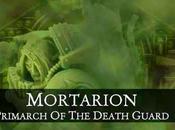Novedades BL:Mortarion,Lancero,minis eventos viene novelas desde Amazon