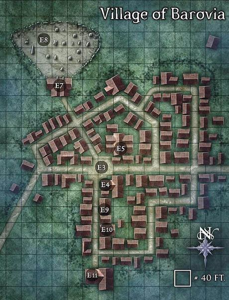 Map-a-week archive y material de TSR desde Wizards of the Coast