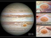 mancha roja Júpiter está encogiendo