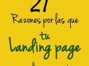 Razones Landing Page consigue conversiones