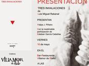 Luis Miguel Rabanal Tres inhalaciones
