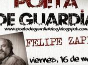 Felipe Zapico: Poeta guardia: Almería Ejido: