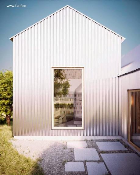 Moderna casa sueca de madera y aluminio paperblog - La casa sueca ...