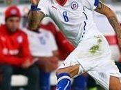 Brasil 2014: Vidal, entre Chile.
