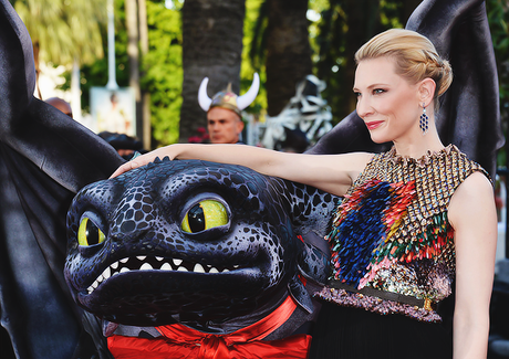 cate blanchett How To Train Your Dragon 2 premiere cannes givenchy