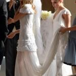poppy delevingne wedding dress cara bridesmaid chanel