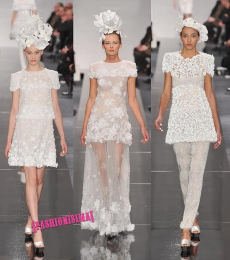 chanel couture ss09 poppy delevingne dress wedding