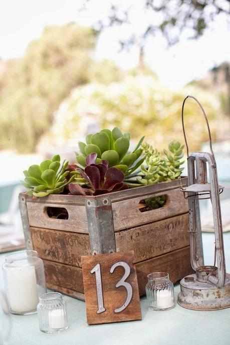 Cajas de madera para decorar tu boda paperblog for Decorar cajas de fruta para boda