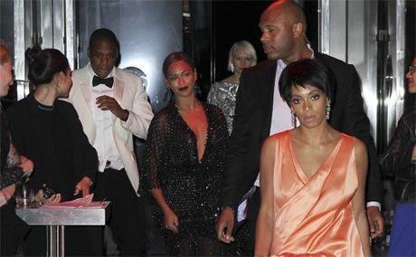 Beyoncé, Jay Z y Solange Knowles