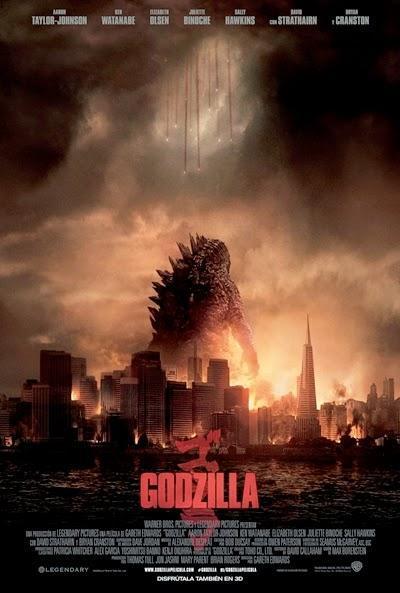 Póster: Godzilla (2014)