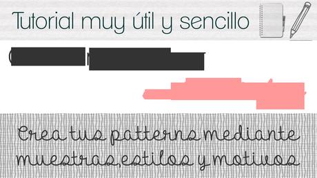 #08 Crear fondo para blogger en photoshop [Fondo/Pattern/Texturas para vuestros diseños]