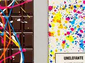 Tabletas chocolate transforman obras arte Pollock