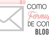 ¿Como crear formulario contacto para blogger?
