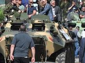Sylvester Stallone 'Mercenarios' llegan Cannes tanques