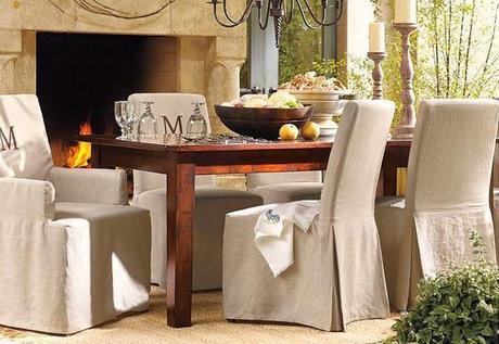 Fundas de sillas para renovar nuestro comedor - Paperblog