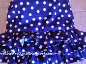 Como hacer falda niña (patrón gratis).frill skirt (free pattern)