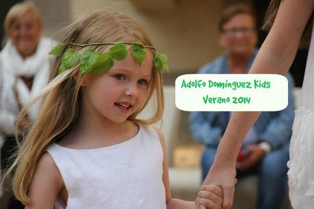 Desfile adolfo dom nguez kids verano 2014 paperblog for Adolfo dominguez barcelona spain