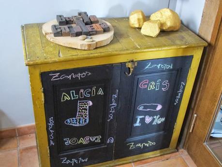 Zapatero de pizarra paperblog for Mueble zapatero colombia