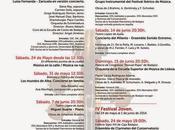 XXXI Festival Iberico Musica Badajoz contará,...