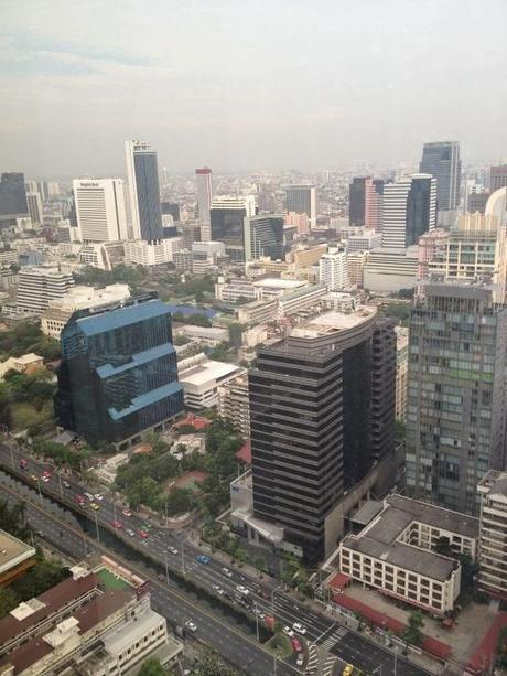 Vistas diurnas Bangkok Banyan Tree