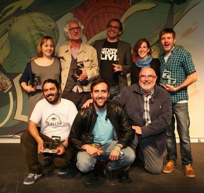 Premiados 32 Salon comic barcelona