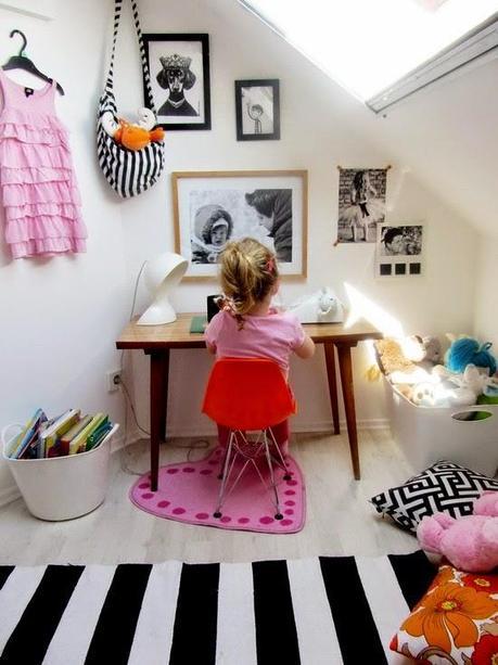 Habitaciones infantiles ii blanco y negro si o no - Habitaciones infantiles en blanco ...