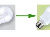 Cambia viejas bombillas
