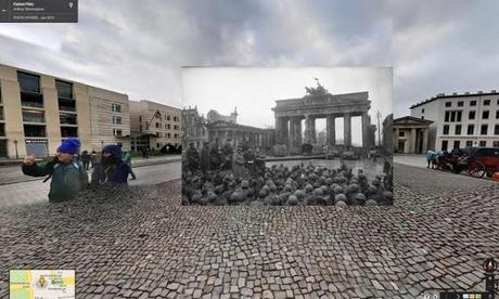 La Segunda Guerra Mundial a través de Google Street View