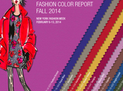 colores moda para 2014, inspiración vintage Fashion Color Report Pantone