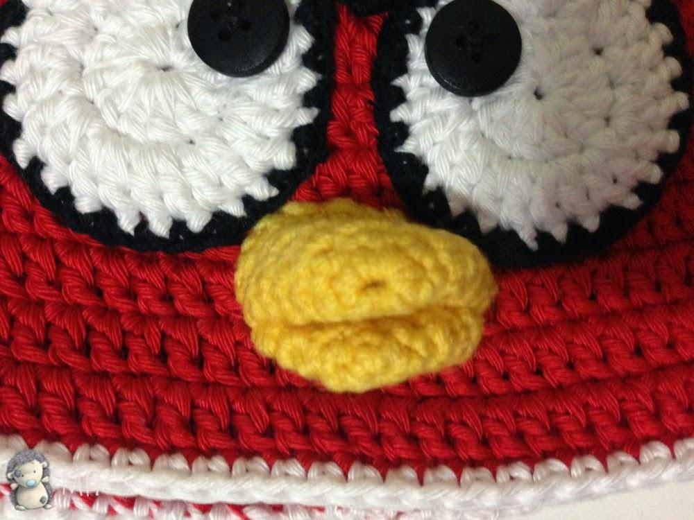 Angry Birds Gorros Crochet Pictures to pin on Pinterest