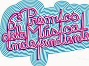 Finalistas Premios Música Independiente 2014