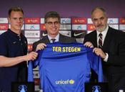 Stegen presentado como portero Barça