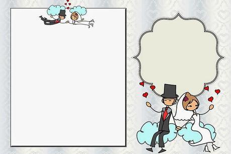 Imprimibles de boda cucos paperblog - Marcos de plata para bodas ...