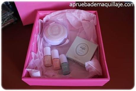 Productos de la Pink Box de mayo de Etude House