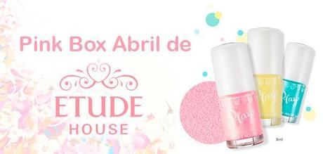 Review de la Pink Box de mayo de Etude House