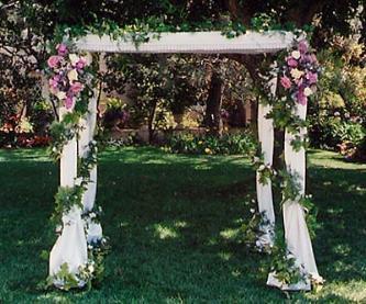 Ideas para la decoraci n del jard n en el d a de tu boda - Decoracion del jardin ...