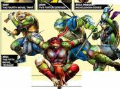 poco arte promocional nuevas tortugas ninja