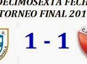 Atlético Rafaela:1 Colón:1 (Fecha 16°)