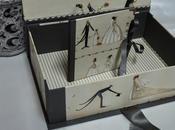 Caja Porta para boda, cartonnage.