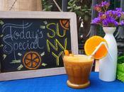 Today's special: Sunny {Orange Smoothie}