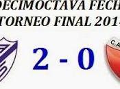 Vélez Sarsfield:2 Colón:0 (Fecha 18°)
