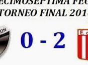 Colón:0 Estudiantes:2 (Fecha 17°)